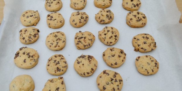 Chocolate chip cookies di Paoletta