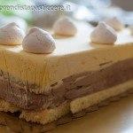 Semifreddo ai tre cioccolati di Ernst Knam