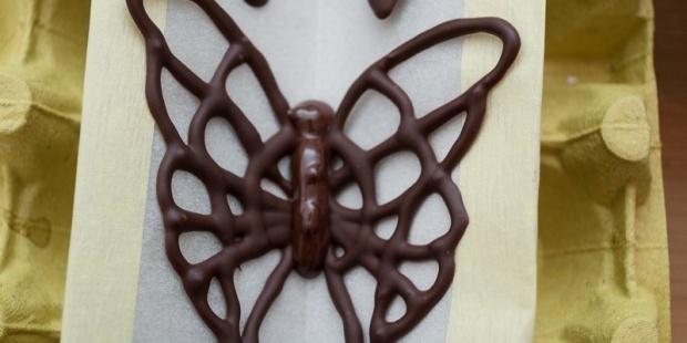 Farfalle di cioccolato