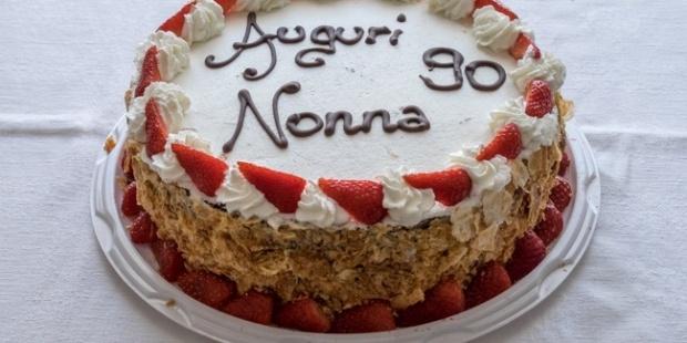 E sono 90… Auguri Nonna!
