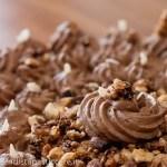 Crostata con mousse al ciocco-caramello